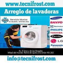 Servicio técnico y reparación de lavadoras y secadoras Quito.