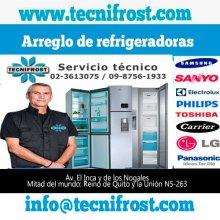 Mantenimiento y reparación de refrigeradoras en Quito TECNIFROST