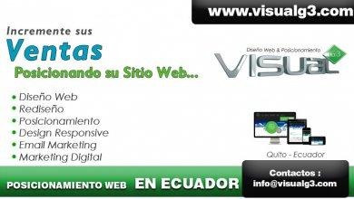 diseño web para empresas en Quito