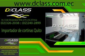 Importador de cortinas en Quito