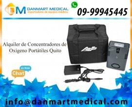 Venta y alquiler de concentradores de oxigeno portatiles en quito