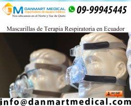 Mascarillas de terapia respiratoria Quito Ecuador