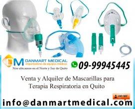 Venta y alquiler de mascarillas de terapia respiratoria Quito