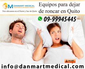 Equipos medicos para dejar de roncar Quito