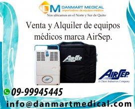 Alquiler y venta de equipos medicos airsep en Quito