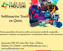 Sublimación textil en Quito