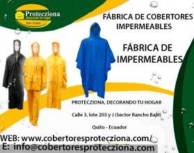 Fabrica de cobertores impermeables