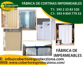 Fabrica cortinas impermeables