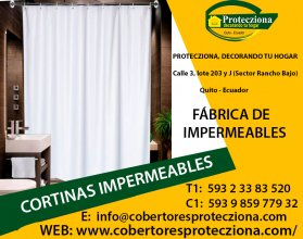 Cortinas impermeables Quito