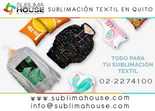 Sublimacion textil en quito